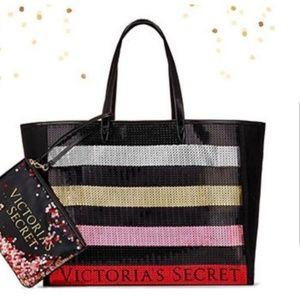 NEW Victoria's Secret Sequin Tote